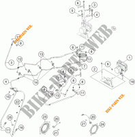 BRAKE ANTIBLOCK SYSTEM ABS for KTM 1190 ADVENTURE R ABS 2013