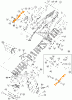 FRAME for KTM 1190 ADVENTURE R ABS 2013