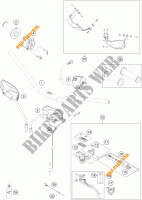 HANDLEBAR / CONTROLS for KTM 1190 ADVENTURE R ABS 2013