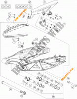 SWINGARM for KTM 1190 ADVENTURE R ABS 2013