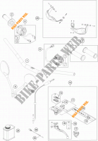 HANDLEBAR / CONTROLS for KTM 1050 ADVENTURE ABS 2016