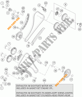 TIMING for KTM 1050 ADVENTURE ABS 2015