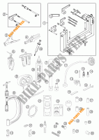 SPECIFIC TOOLS (ENGINE) for KTM 950 ADVENTURE SILVER 2003