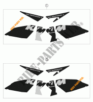 STICKERS for KTM 950 ADVENTURE SILVER 2003
