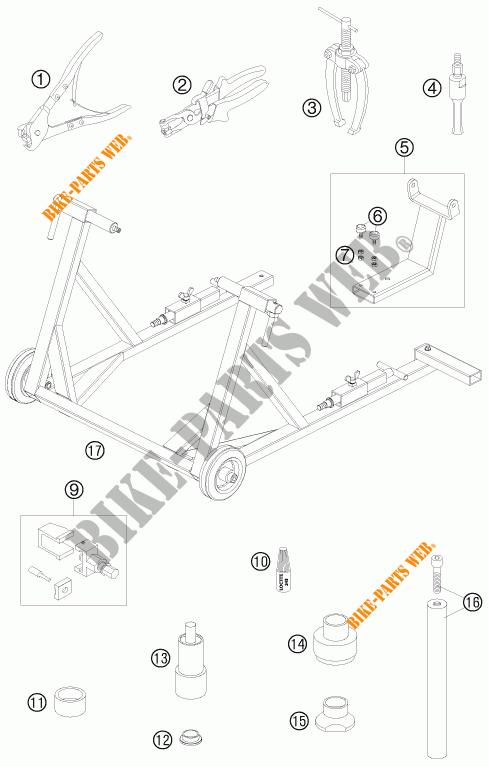 specific tools for ktm 950 supermoto r 2008   ktm