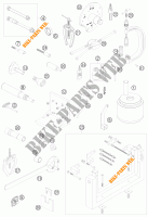 SPECIFIC TOOLS (ENGINE) for KTM 690 SUPERMOTO ORANGE 2007