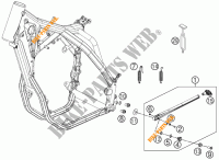 SIDE / MAIN STAND for KTM 500 XC-W 2012