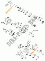 GEAR SHIFTING MECHANISM for KTM 200 MXC 1998