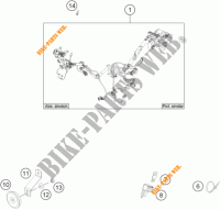 wiring harness for ktm freeride 250 2017