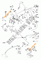 WIRING HARNESS for KTM 640 LC4 1999