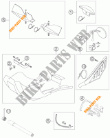 ACCESSORIES for KTM 525 EXC RACING SIX DAYS 2006