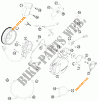 IGNITION SYSTEM for KTM 200 EXC 2016
