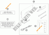 TOOL KIT / MANUALS / OPTIONS for KTM 200 EXC 2013