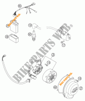 IGNITION SYSTEM for KTM 85 SX 2004