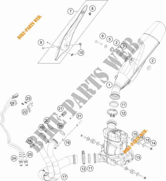 X52 f/ür KTM 790//390// 125 Duke Hecktasche X50