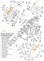 CRANKCASE for KTM 990 SUPER DUKE R 2007