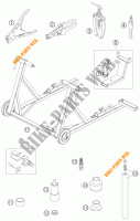 SPECIFIC TOOLS for KTM 990 SUPER DUKE R 2007