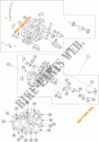 CRANKCASE for KTM 390 DUKE WHITE ABS 2013