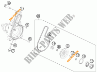 WATERPUMP for KTM 390 DUKE WHITE ABS 2013